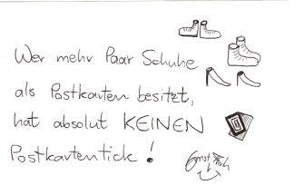Postkartentick